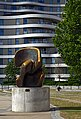 Locking Piece by Henry Moore. Riverside Walk Gardens, Millbank. London.jpg