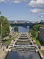 Locks on Rideau Canal from Plaza Bridge.jpg