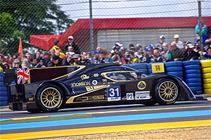 ByKolles Racing - Kodewa's Lola B12/80-Lotus at the 2012 24 Hours of Le Mans
