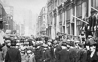 Petticoat Lane Market - Petticoat Lane in the 1920s