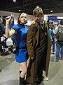 Long Beach Comic & Horror Con 2011 - Star Trek officer and Doctor Who (6301702118).jpg