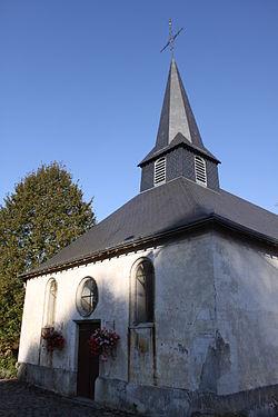Longwé - l' Église Sainte Marie-Madeleine - Photo Francis Neuvens lesardennesvuesdusol.fotoloft.fr.JPG