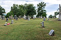 Looking S through section N and O - Glenwood Cemetery - 2014-09-14.jpg