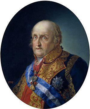 Infante Antonio Pascual of Spain - Portrait by Vicente López y Portaña (Prado Museum)