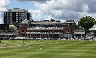 Lords Cricket venue in St Johns Wood, London