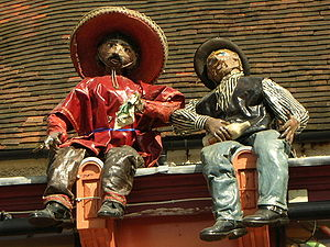 Bagshot - A former local Mexican restaurant called Hardy's Tex Mex, now known as No.1 The Square