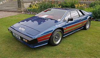 Lotus Esprit - 1980 Lotus Esprit Essex Turbo