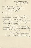 Louis Julius Freudenberg I (1894-1918) war history written by his mother, page 1 of 3.jpg