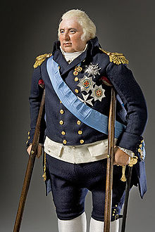 Ludwig XVIII. mit Krücken (Quelle: Wikimedia)