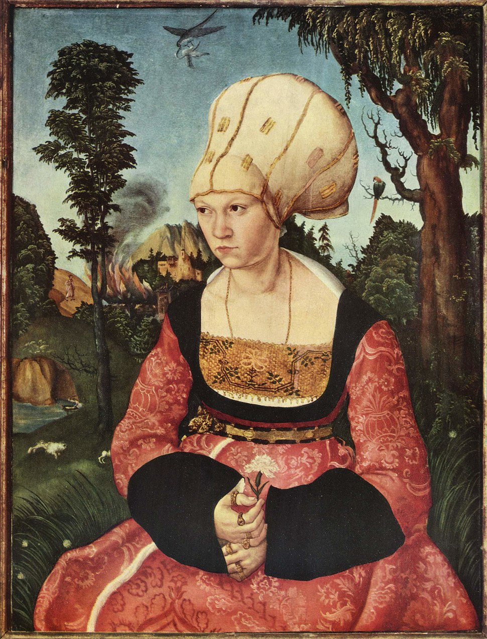 Lucas Cranach (I) - Anna Cuspinian