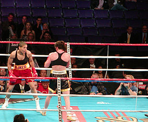 Women's boxing - Lucia Rijker and Jane Couch boxing, 2003