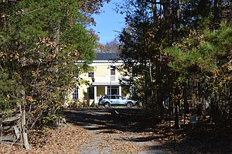 National Register of Historic Places listings in Chatham County, North Carolina - Image: Luther Clegg House
