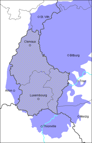Luxembourgish - Image: Luxemburgs