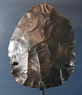 Lynford Quarry - Image: Lynford Hand axe Discoid