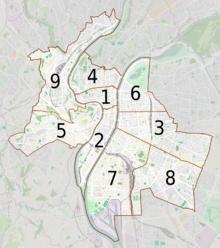 Arrondissements de Lyon — Wikipédia