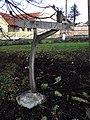Máslovice, Vltavská, směrovka k přívozu.jpg