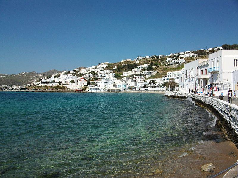 paisagens mais lindas da Grécia- Mykonos