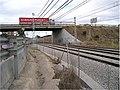M-506 de Móstoles a Fuenlabrada. Paso sobre vía de Ferrocarril. Remodelación de enlace. - panoramio.jpg