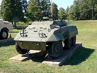 M8 Greyhound - Image: M20 Armored Utility Vehicle 1