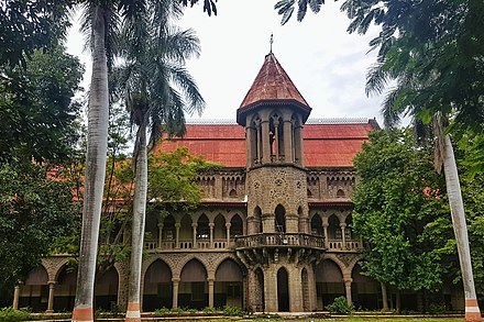 Deccan college houses the museums of Maratha history and Indian archaeology MAJESTIC DECCAN COLLEGE.jpg
