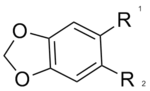 Chemical diagram of MDP1 molecule