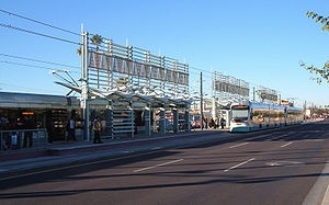 Alhambra, Phoenix - Phoenix METRO Light Rail Station in Alhambra.