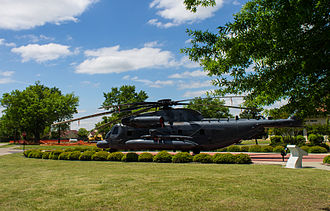 Sikorsky MH-53 - An MH-53M on display at Maxwell AFB