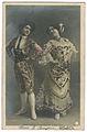 MONTÉS. Les Sœurs W Étoile. Andalouses. Folies Bergére. Photo Waléry b.jpg