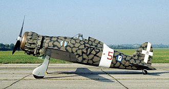 Macchi C.200 - The NMUSAF's preserved C.200 in the markings of 372° Sq., Regia Aeronautica
