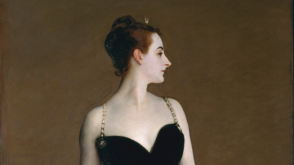 """Portrait of Madame X"" by John Singer Sargent"