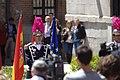 Madrid, oslavy Dne Evropy, stráž.jpg