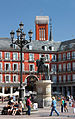 Madrid. Mayor square. Equestrian statue of Felipe III. Spain (2852977393).jpg