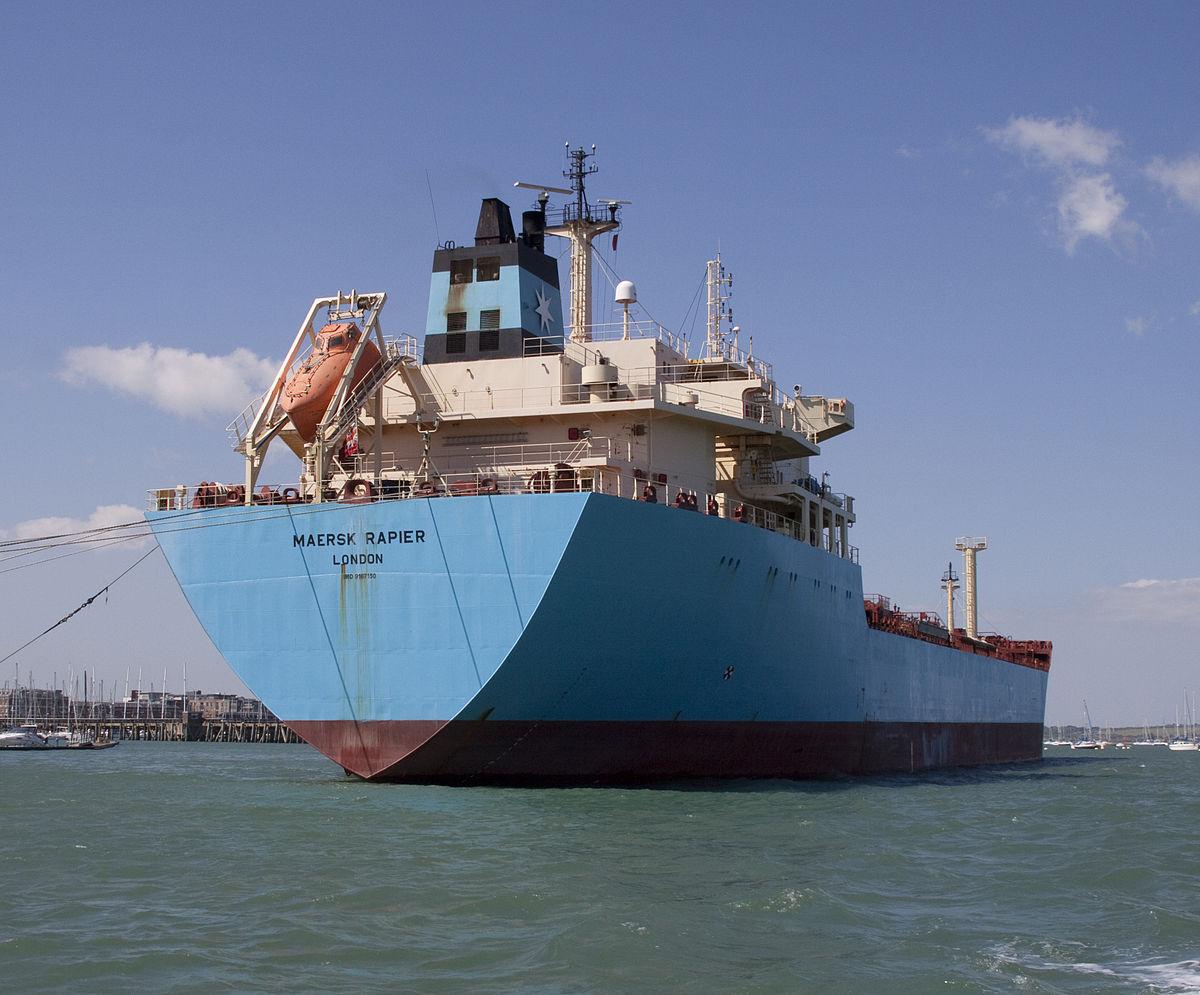 MV Maersk Rapier - Wikipedia