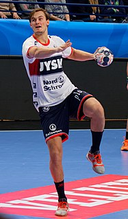 Magnus Abelvik Rød Norwegian handball player