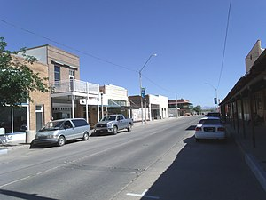 Main Street original town-site of Florence Arizona National Register of Historic Places.jpg