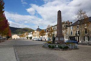 Mauléon-Licharre - Main square, Mauléon