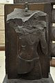 Male Figure - Railing Pillar - 2nd Century BCE - Red Sand Stone - Bharhut Stupa - Madhya Pradesh - Indian Museum - Kolkata 2012-11-16 1849.JPG
