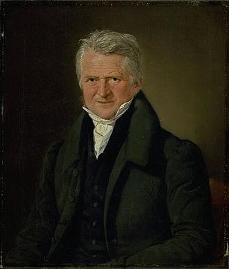 Christoffer Wilhelm Eckersberg - Christian Albrecht Jensen, The Painter C. W. Eckersberg, 1832