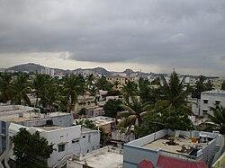 The skyline of Malkajgiri