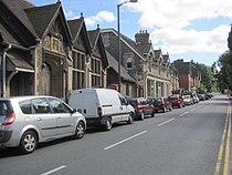 Malvern Wells village, Worcestershire, England. August 2011.jpg