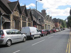 Malvern Wells - Image: Malvern Wells village, Worcestershire, England. August 2011