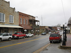 Mammoth Spring, Arkansas - Main Street