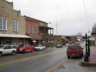 Mammoth Spring, Arkansas - Main Street