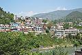 Mandi Town - Chandigarh-Manali Highway - NH-21 - Himachal Pradesh 2014-05-09 2144.JPG