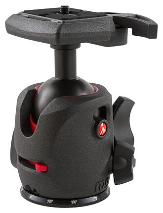 Ball head - A ball head made by Manfrotto