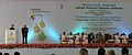 Manmohan Singh addressing at the foundation stone laying ceremony of the Integrated Refinery Expansion Project of BPCL, in Kochi. The Governor of Kerala, Shri H. R. Bhardwaj, the Union Minister for Petroleum & Natural Gas.jpg