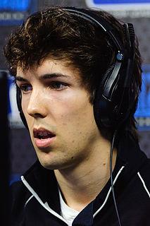 Grubby Dutch electronic sports player