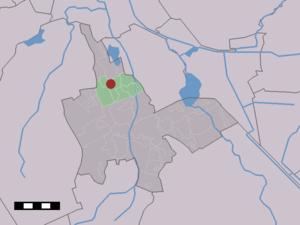 Eelde - Image: Map NL Tynaarlo Eelde