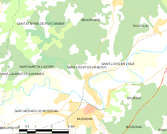 Map commune FR insee code 24409.png