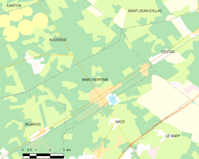 Map commune FR insee code 33555.png